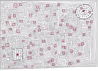 Maze 16- Des Chiffres by Nebagram