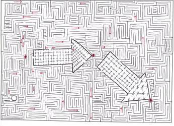 Maze 22- Point the way by Nebagram