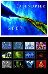 2007 Fractal Calendar by Niluge-KiWi
