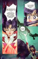 Sailor Mars Colored Manga Page by pockypants