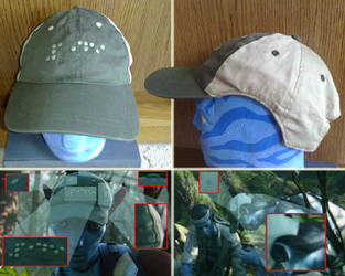 Norm Spellman's cap from Avatar movie by world-soft