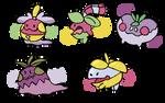 Berries 'N' Bells Clutch by SparkleBloomSwirl