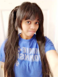 Me with my hairstyle of odango/meatball head 2 by 8TeamFriends8
