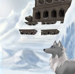 The Temple of Ice by mereni