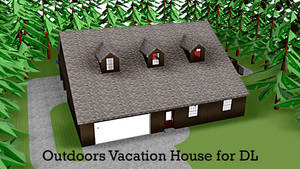 MMD DL - Outdoors Vacation House by xXFrenchToastXx