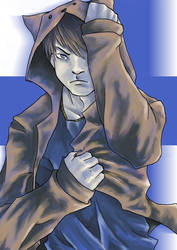 Blue Renard by DevilSword-le-Demon