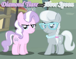 Diamond Tiara and Silver Spoon by Xain-Russell