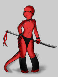 Tmnt OC: Ash by My-lacerated-soul