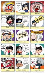 Naruto: First Impressions by Yiji