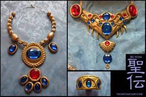RG VEDA: Karyoubinga's Jewelry by Yiji