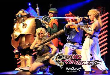 Chrono Trigger Crew by Yiji