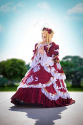 The Rose of Versailles: Marie Antoinette by Yiji