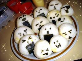 Onigiri Expressions by Yiji