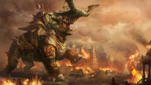 Ancient Beast by JupiterWaits