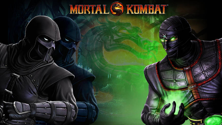 Noob Vs Ermac Wallpaper By Bastart D3sign On Deviantart