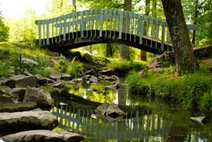 Sparkman park stream by artgunner