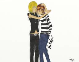 Matt and Mello by cynthp1580