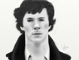 Sherlock by cynthp1580