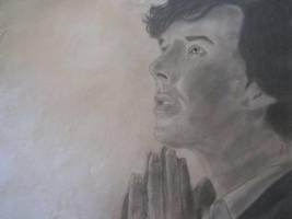 Charcoal Sherlock by cynthp1580