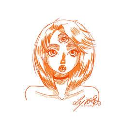 Orange by LynAnnais