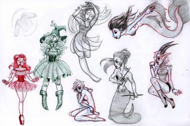 sketch 7 by LynAnnais