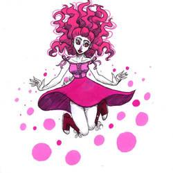 Pink (bubble gum) by LynAnnais