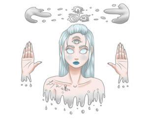Silver Triskel by LynAnnais