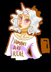 Humans Are Real by LynAnnais