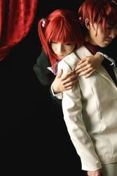 Umineko-Battler and Ange by kotanimomo