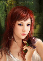 Briannah Violette by phoenixlu