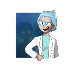 Rick Sanchez by CandyAICDraw