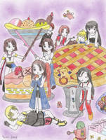 300th deviation party by Yushi
