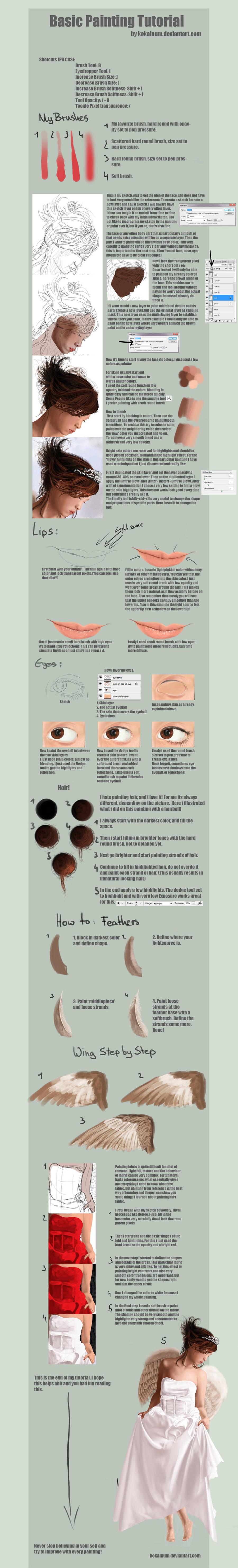 Basic PS Painting Tutorial by kokaInum