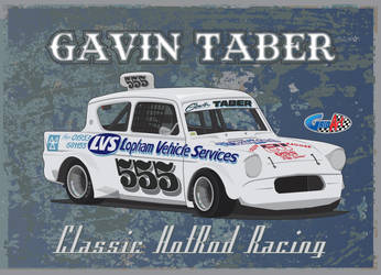Classic Hot Rod 555 Gavin Taber by gridart