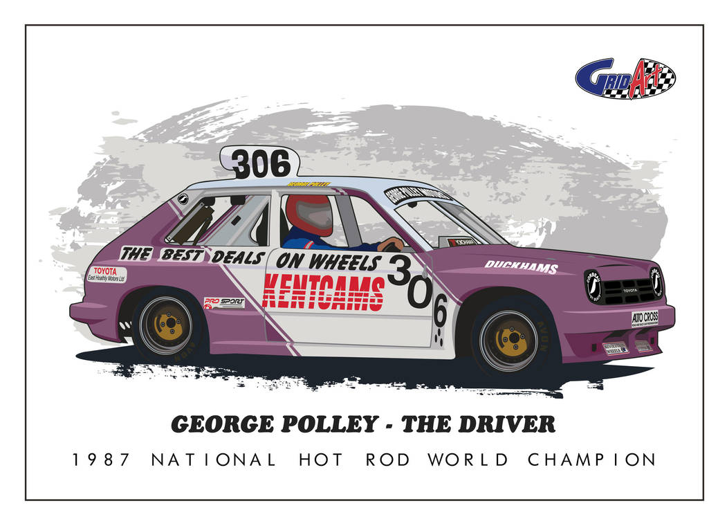 George Polley 306 by gridart