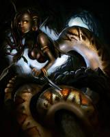 Medusa by Captaintrebuchet
