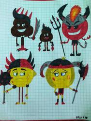 Emoji Warriors by Morgan4502