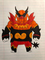 Emboar by Morgan4502