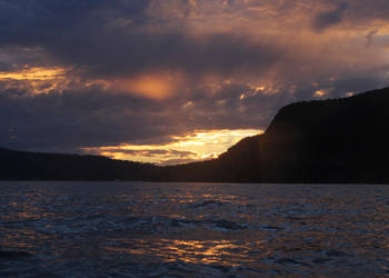 Sunset over Patonga by Rahball