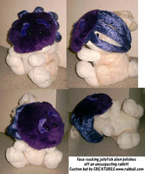 Face-sucking jellyfish hat by Rahball