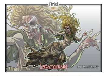 Legacy of Kain - WIP - Ariel by Destybox