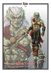 Legacy of Kain - WIP - Kain by Destybox
