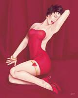 Betty Boop Marilyn Monroe by femjesse