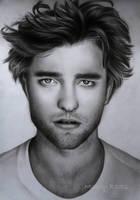 Robert Pattinson drawing by mandyart