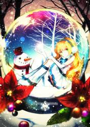 Merry Christmas by Ludynhaanime