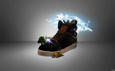 Adidas Shoe by dvL-den