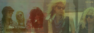 Guns N' Roses Sign. by Calciu19