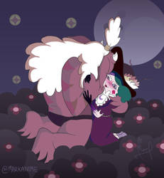 Eclipsa's Kiss by MarKAnime