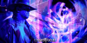 BLUE WAVES UNDERTAKER BANER by HARDTAKER