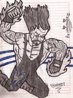 The Undertaker Cartoon No. 1 by HARDTAKER